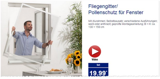 fliegengitter als aldi nord angebot ab 27. Black Bedroom Furniture Sets. Home Design Ideas