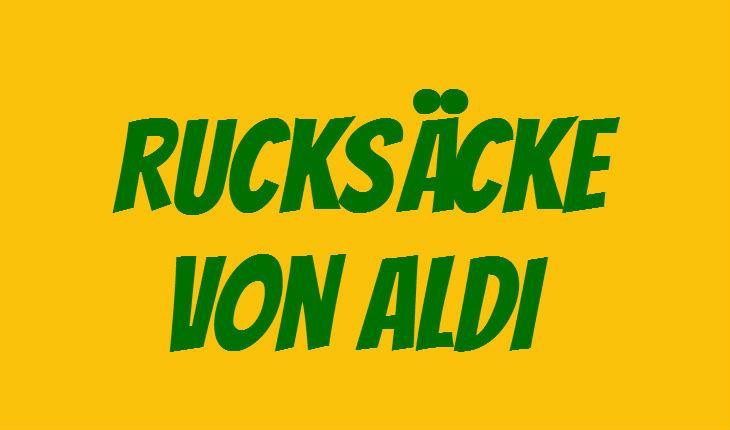 ALDI Rucksack
