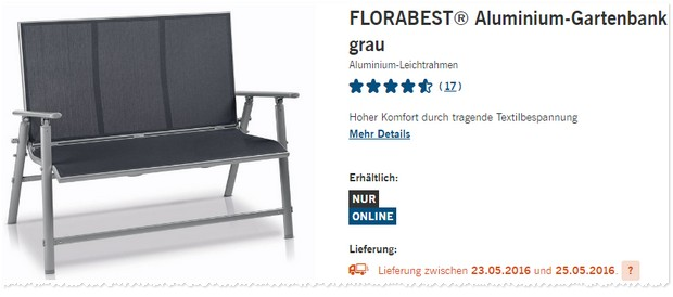 aldi gartenm bel online bestellen my blog. Black Bedroom Furniture Sets. Home Design Ideas