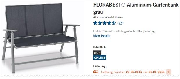 Florabest Gartenmöbel Als Lidl Angebot Ab 2352016