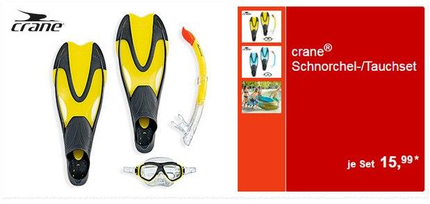 Crane Schnorchel-Set als ALDI-Süd-Angebot ab 30.5.2016 für 15,99 €