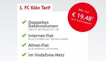 FC Köln Tarif