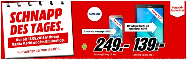 Media Markt Werbung am 17.5.2016