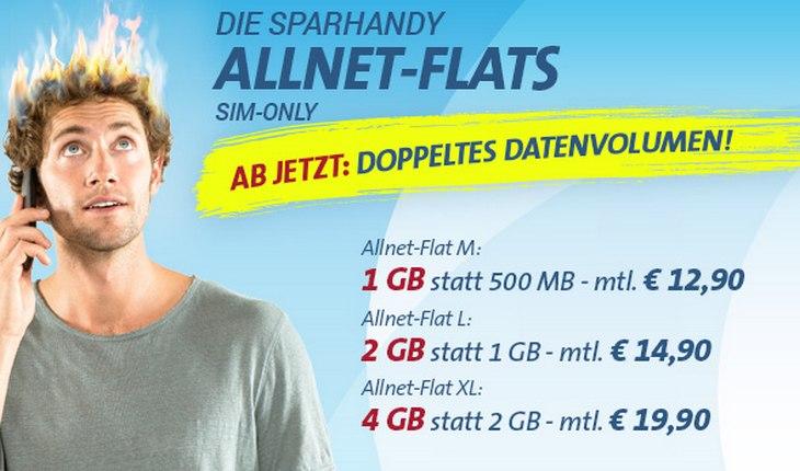sparhandy Allnet-Flat SIM-only