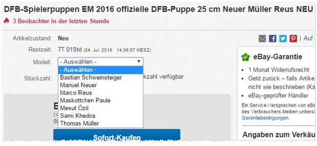 DFB-Fanpuppe