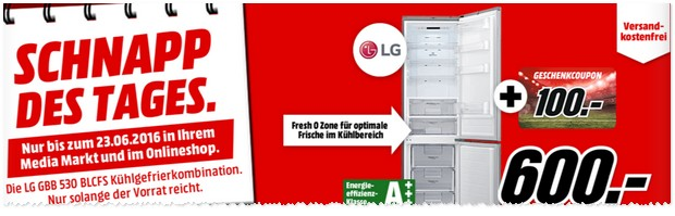 lg k hlschrank media markt werbung 23 schnapp. Black Bedroom Furniture Sets. Home Design Ideas