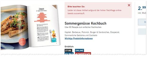 LIDL Kochbuch