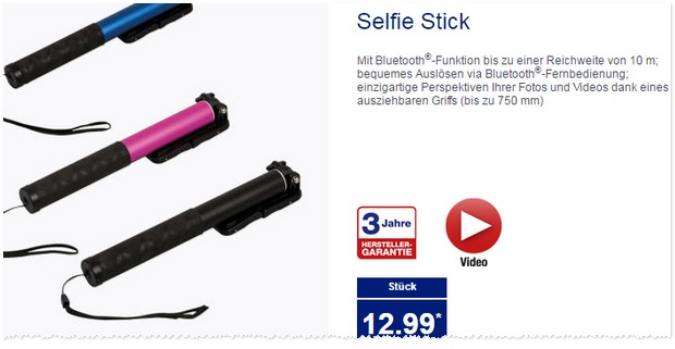 ALDI Selfie-Stick