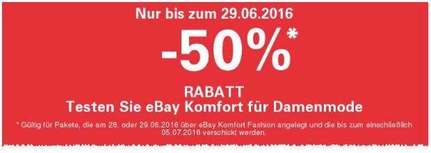 eBay Komfort