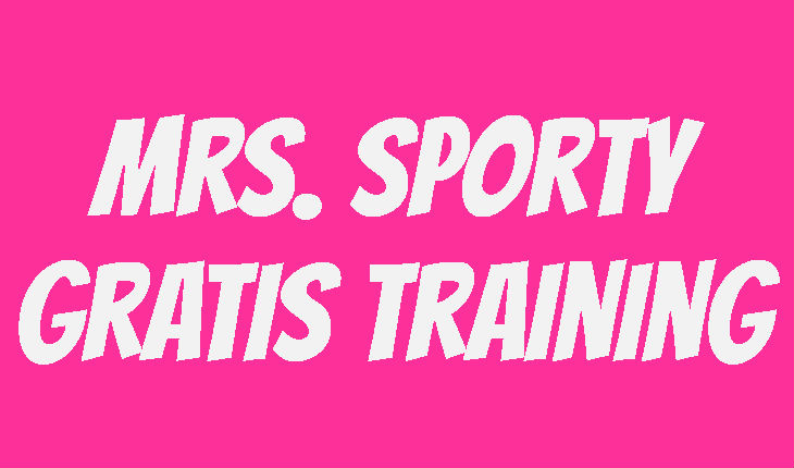 Mrs. Sporty Probetraining