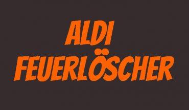 ALDI Feuerlöscher