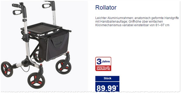 ALDI Rollator