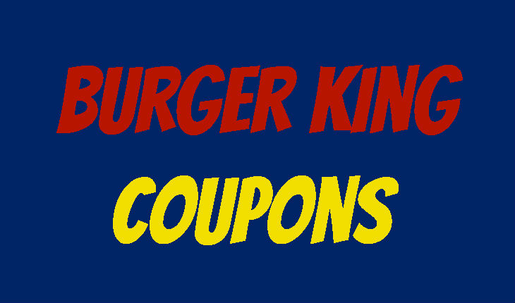 Www burgerking de coupons