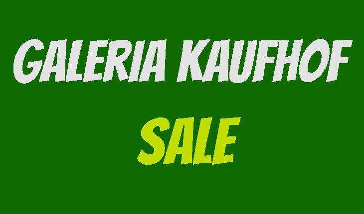 Kaufhof Sale
