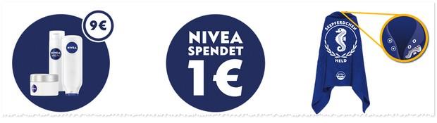 Nivea Badetuch