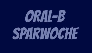 Oral-B Sparwoche