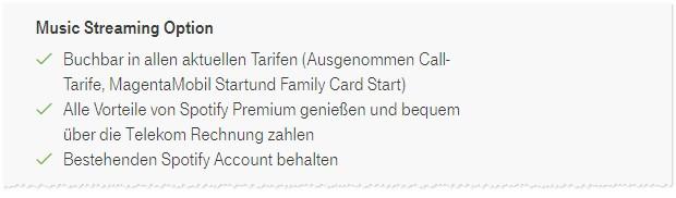 Telekom Spotify