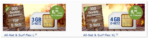Allnet & Surf Flex XL
