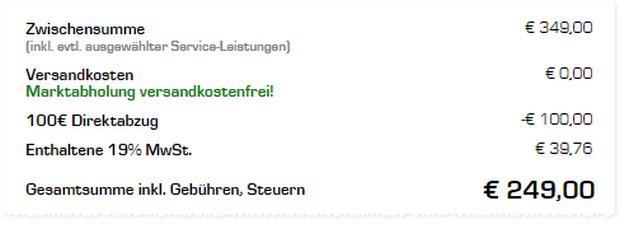 PS4 Rabatt-Aktion aus der Saturn-Werbung: 100 € Direktabzug im Warenkorb ohne Gutschein