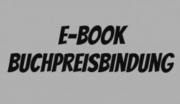 Buchpreisbindung E-Books