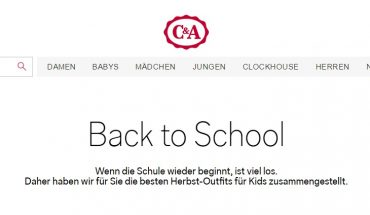 C&A Back to School