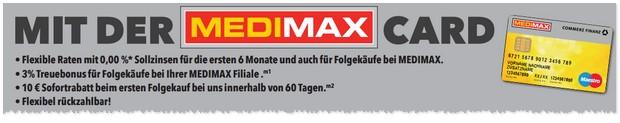 Medimax Gutschein mit Medimax Card