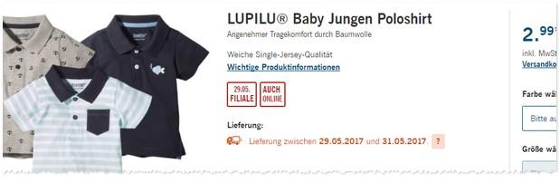 LIDL Babymode