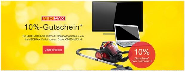 Medimax Outlet mit Rabatt-Gutschein