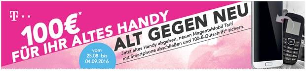 Telekom Alt gegen Neu mit Cashback von 100 €