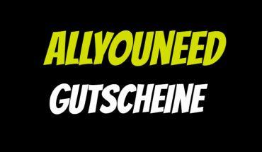 Allyouneed Gutschein