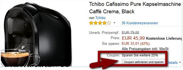 Cafissimo Cashback