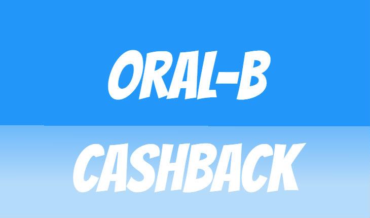 Oral-B-Cashback