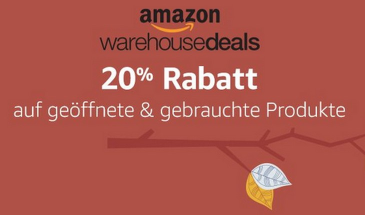 rabatt auf warehouse deals
