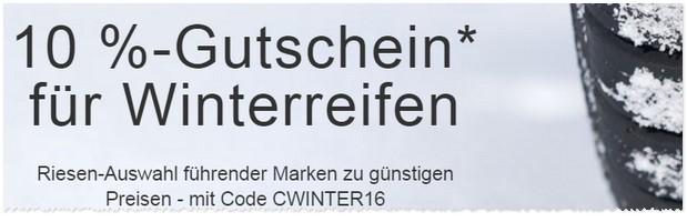 Winterreifen Gutschein