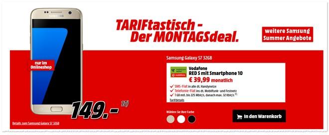 TARIFtastisch Montagsdeal von Media Markt - neu ab 3. Oktober 2016