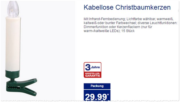 lichterkette als aldi nord angebot ab f r 9 99. Black Bedroom Furniture Sets. Home Design Ideas