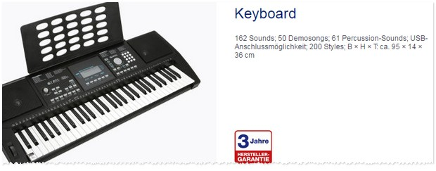 ALDI Keyboard