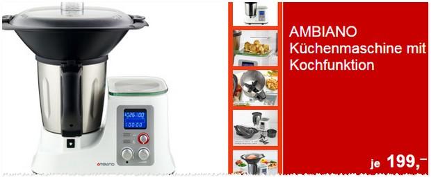 Ambiano Küchenmaschine: ALDI-Angebot ab 27.3.2017