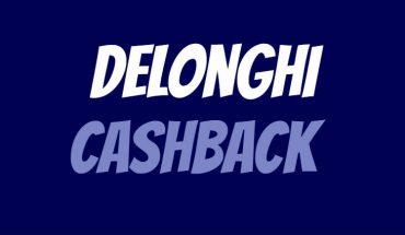 Delonghi Cashback