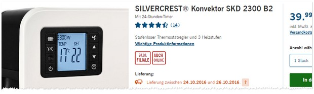 silvercrest konvektor als lidl angebot ab f r 39 99. Black Bedroom Furniture Sets. Home Design Ideas