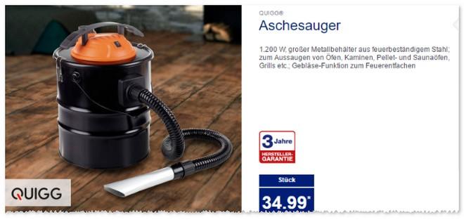 ALDI Aschesauger von Quigg