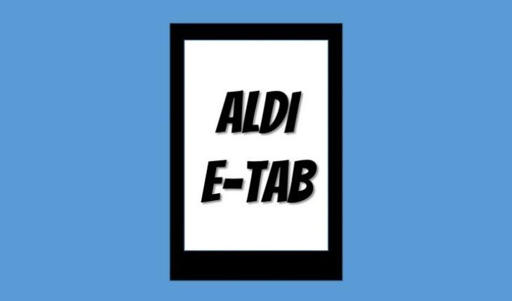 ALDI E-Tab