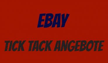 eBay Tick Tack Angebote