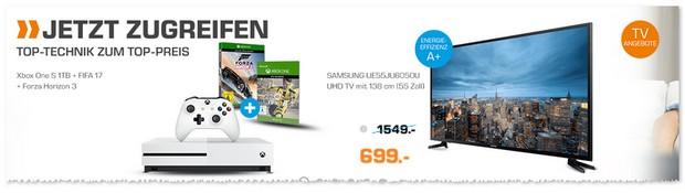 Samsung UE55JU6050U Fernseher als Saturn-Angebot