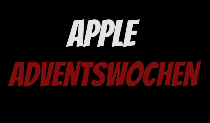 Apple Adventswochen