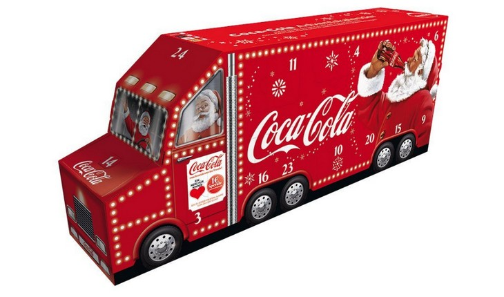 Coca Cola Adventskalender