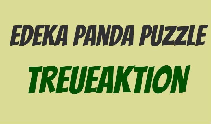 Edeka Panda Puzzle