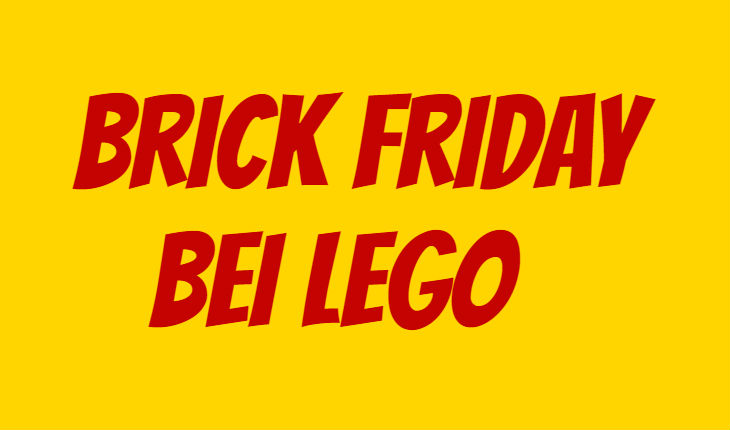 LEGO Brick Friday
