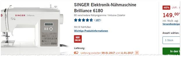Singer Nähmaschine