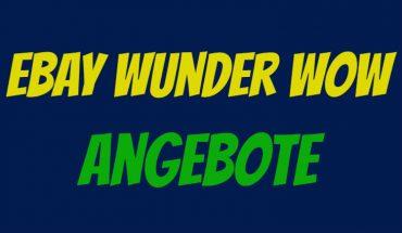 eBay Wunder WOW
